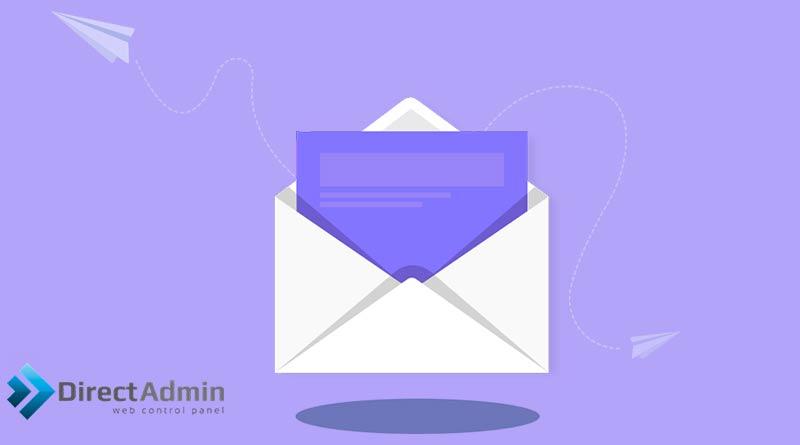 آموزش ساخت ایمیل در دایرکت ادمین