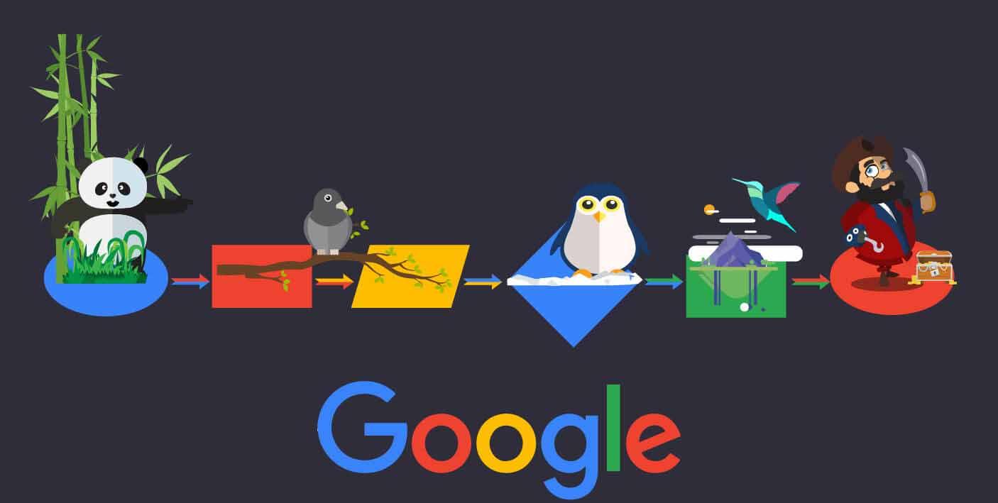 انواع الگوریتم گوگل