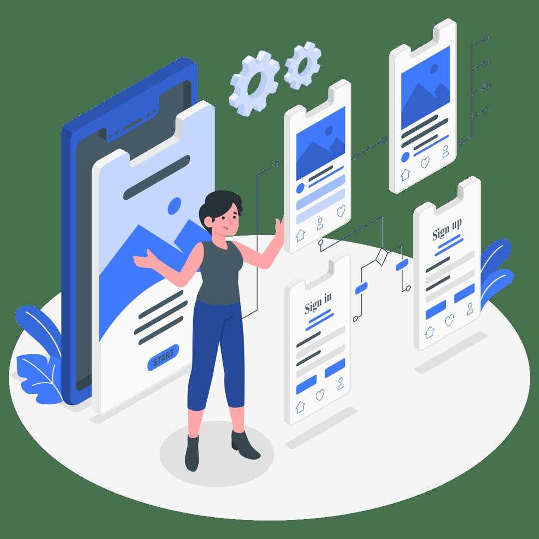 اپلیکیشن اندروید و ios